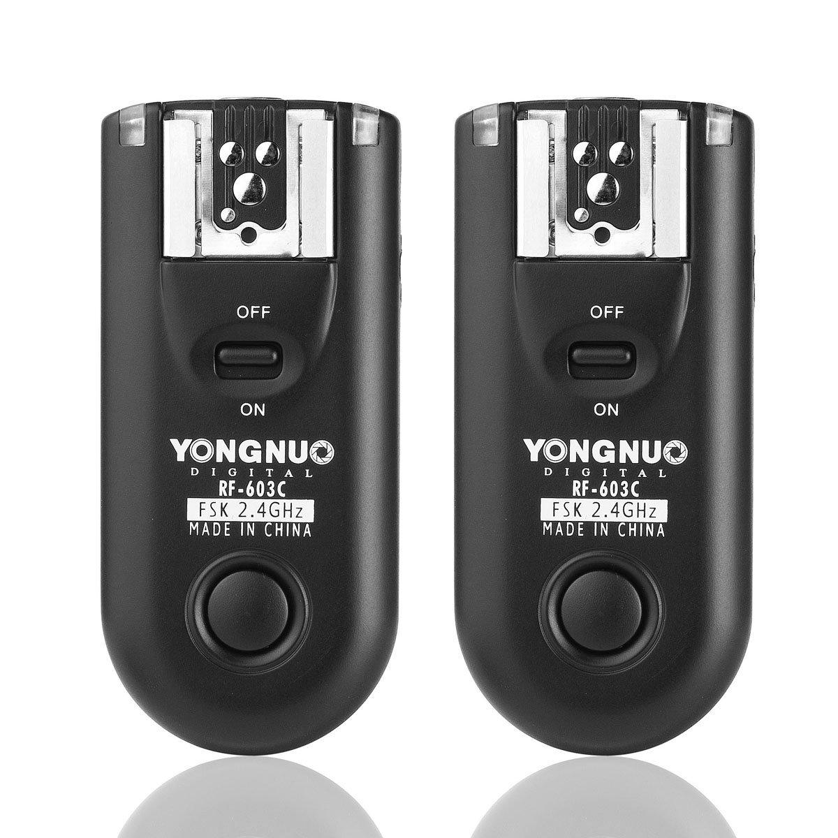 Yongnuo Rf 603 C1 Rf603 Wireless Flash Trigger Remote Store Yn 560iii Speedlight Loading Zoom